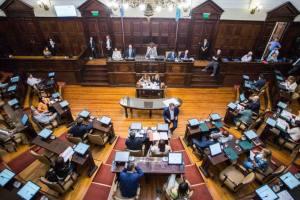 Distinción legislativa por mis 35 años de trayectoria