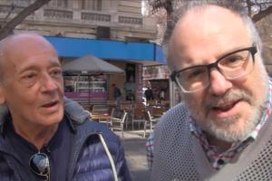 El show: Alberto Atienza y Alfredo Caferatta