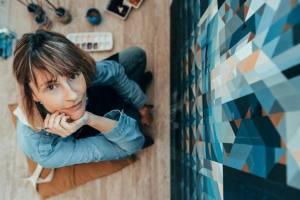 Irene Mancino, aun juega a 'colorear'