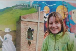 Laura Escande, muralismo y palabras