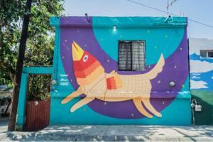Vico, murales que dicen