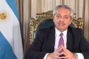Alberto apuntó contra la Ciudad y confirmó el colapso sanitario