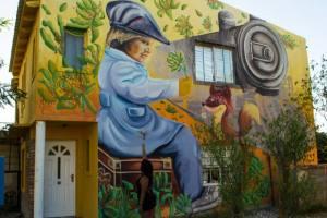 Lidia Rosana Gómez, pintar para recrear la historia